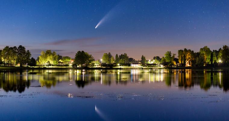 Kometa NEOWISE: Vidljiva golim okom na večernjem nebu