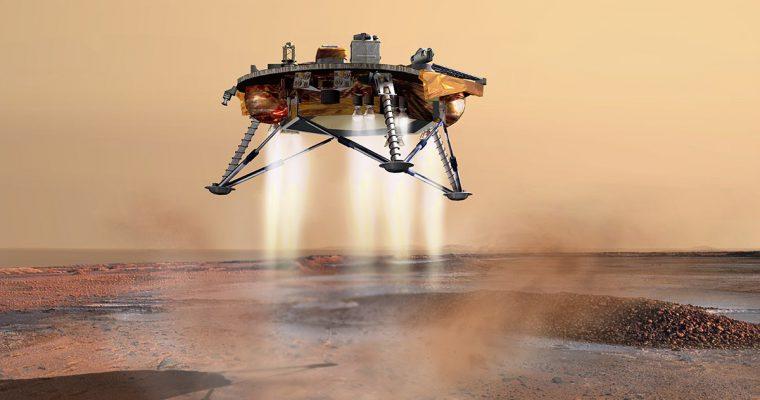 Sletanje na Mars uživo na Kosmodromu